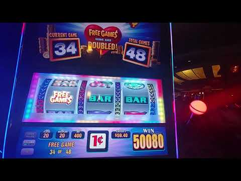Almost $600 Win / Max Bet / 1cent I❤💎slots @ Resorts Casino Queens N.Y.