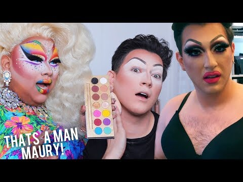 MY FIRST FULL DRAG TRANSFORMATION! Nails, Wigs and Heels OH MY! thumbnail