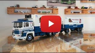 Scania 141 Motorwagen Langtransport 73060 Tekno Models