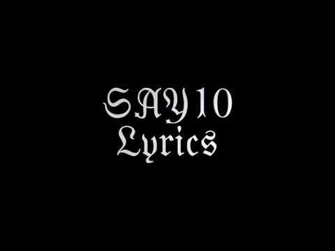 Marilyn Manson - SAY10 - Lyrics