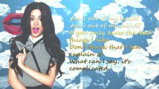 Bad Things (LYRICS)