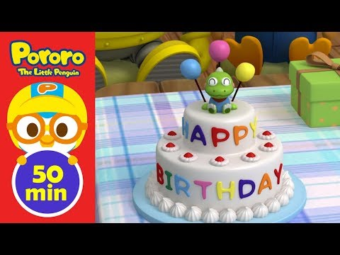 Ep63 - Ep66 (50min) Pororo English Compilation | Animation For Kids | Pororo The Little Penguin