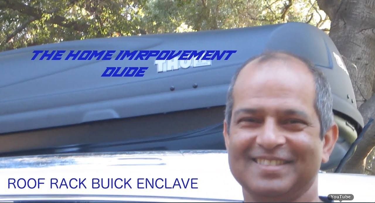 How to Install A Roof Rack On A Buick Enclave (GMC Acadia) - YouTube