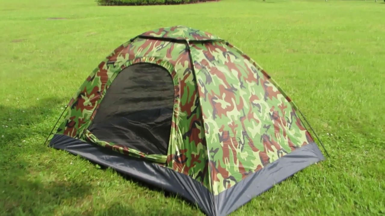Family Tent Couple Camoflage Festival 2 3 4 person Waterproof Dome Explorer
