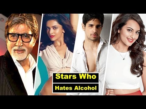 Top 10  Bollywood Celebrities Who Don't Drink & Smoke In Real Life