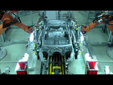 Production of BMW 5-Series BMW Dingolfing Plant, Germany