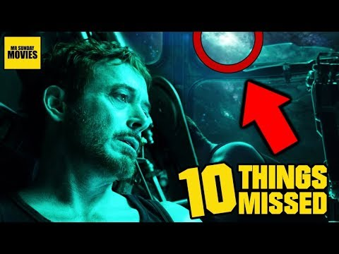 Avengers: Endgame - Trailer Easter Eggs & Things Missed