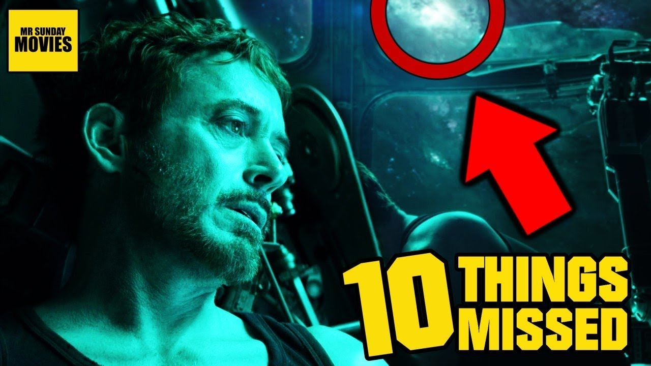 Avengers Endgame Trailer Gallery: Easter Eggs & Things Missed