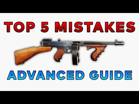 TOP 5 PUBG MISTAKES: ADVANCED GUIDE - BATTLEGROUNDS GAMEPLAY TIPS AND TRICKS