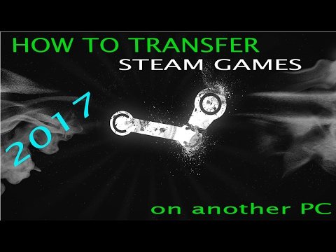 HOW TO TRANSFER DOTA2 TO ANOTHER PC 2017