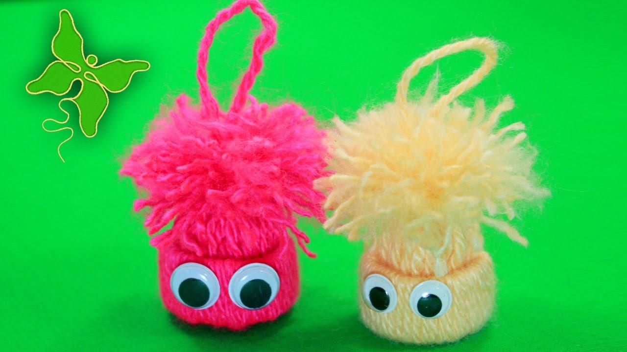 Как сделать игрушку своими руками из нитей