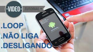 SOLUÇÃO: Samsung Galaxy Pocket 2 SM-G110 Não Liga ou Reiniciando na tela SAMSUNG, Boot Loop. G-Tech