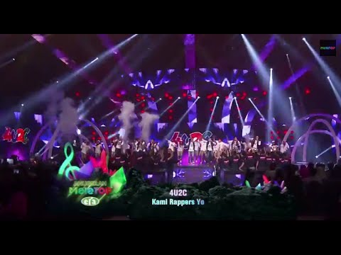 Anugerah MeleTOP Era 2015 - Persembahan Pembukaan (Wings, Joe Flizzow, SonaOne, Nico, 4U2C)