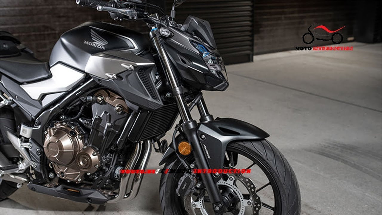 New Honda CB500F 2019 Official