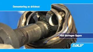 SKF Montering av den nya drivknuten VKJA Renault Laguna I 1.8 (VKJA 5342)
