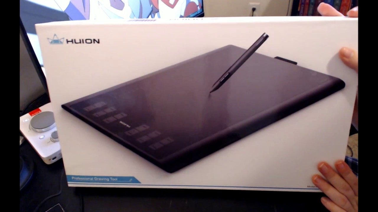 Huion New 1060 Plus Review Youtube