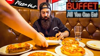THE PIZZA HUT UNLIMITED BUFFET TAKE DOWN | BeardMeatsFood