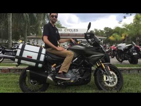 Aprilia Caponord 1200 Rally Delivery at Euro Cycles of Tampa Bay