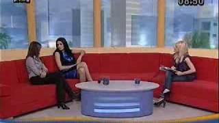 Eva Rivas at Epta Deka CyBC with Diana Petrosyan.flv