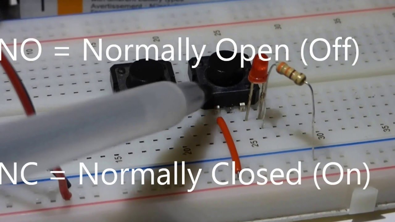 tactile switch momentary push button no normally open learn tact switch wiring  [ 1280 x 720 Pixel ]