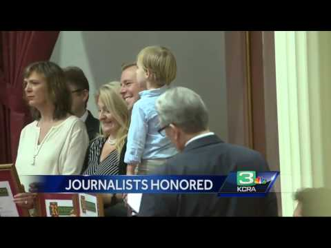 Richard Sharp recognized for Capitol coverage