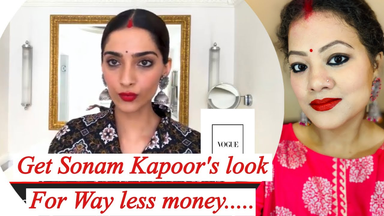Download Recreated-Sonam Kapoor Gives a Lesson in '90s Bollywood Beauty   Beauty Secrets   Vogue