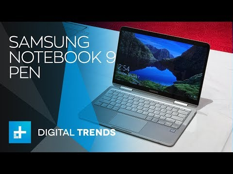 Samsung Notebook 9 Pen - First Look at CES 2018