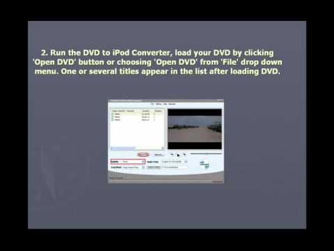 Convert AVI To IPod MP4 - AVI To IPod, AVI To MP4, AVI To IPod MP4 Converter