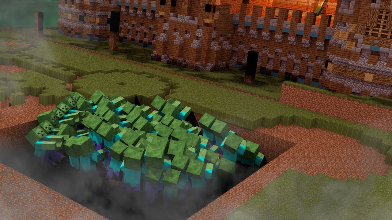 Minecraft build to survive zombie apocalypse zombie for Zombie build