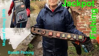 Magnet Fishing UK 2019 #009 Magnet Fishing JACKPOT