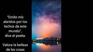 No te detengas WALT WHITSMAN narrado por ALFONSO VANEGAS OSPINA