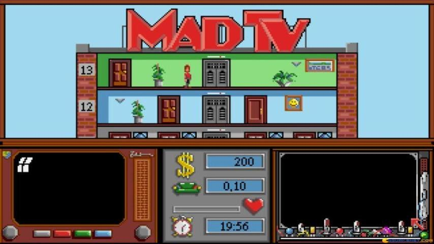 Mad TV gameplay (PC Game, 1991...