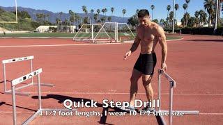 Advanced Hurdle Drills and Techniques with Jaret Campisi