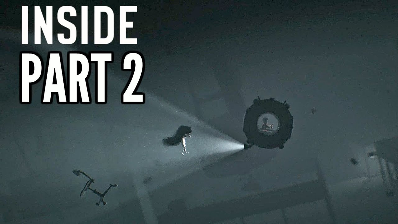 INSIDE Walkthrough Part 2 - Submarine & Creepy Naked Mermaid! (Xbox One  Gameplay HD)