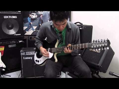 Danelectro 12SDC 12 Strings - California Dreamin' theme improv - Lucas Sgreccia