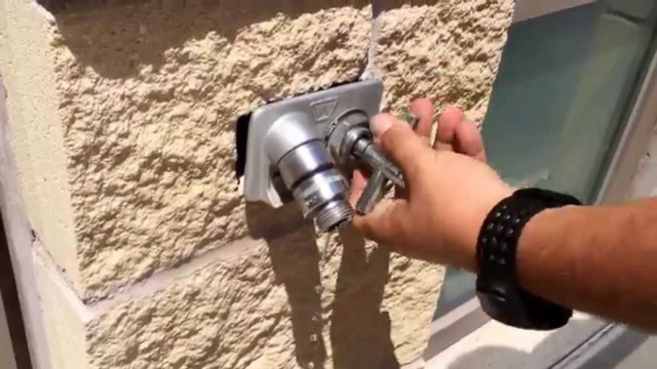 4 Way Sillcock Water Key [Urban Survival] - YouTube