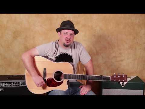 Acoustic 12 Bar Blues (Johnny Cash Style)