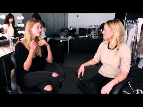 Behind The Scenes On Marloes Horst Shoot Marie Claire