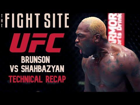 Brunson vs. Shahbazyan: Technical Event Recap