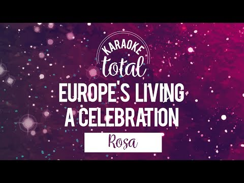 Europe's Living a Celebration - Rosa - Karaoke Con Coros
