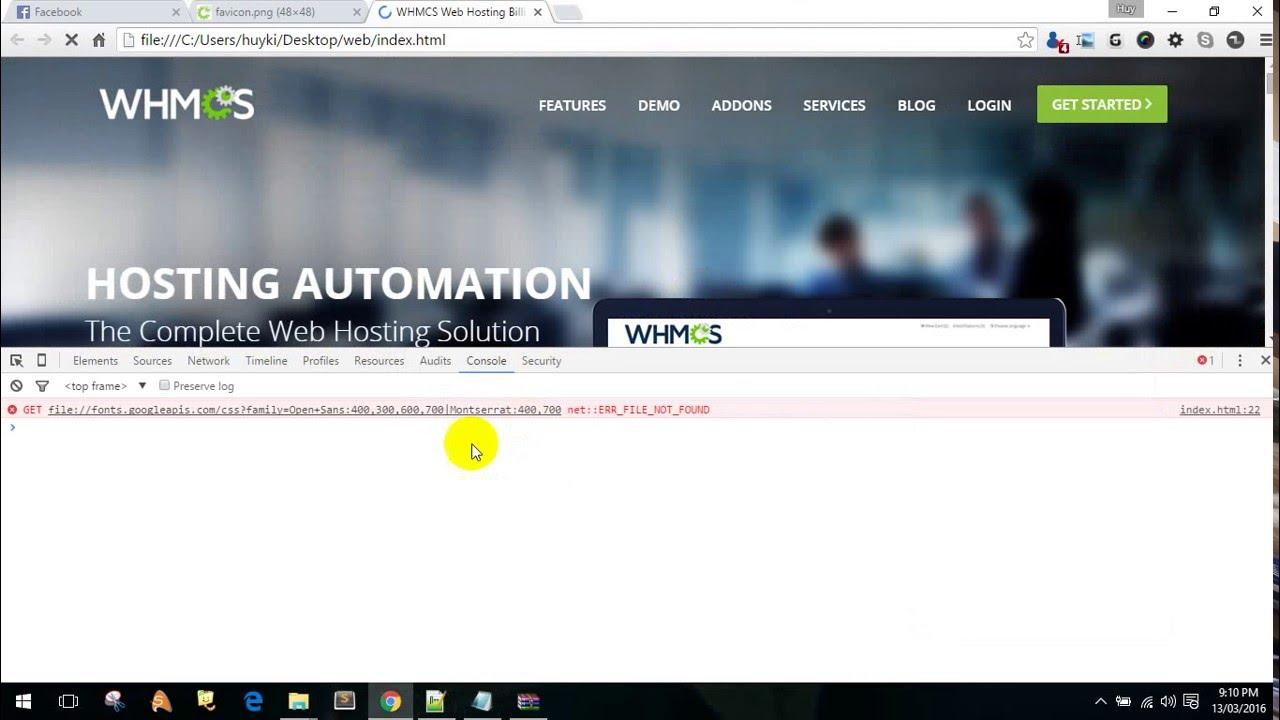 Hướng dẫn lấy html của 1 trang web bất kỳ (Rip giao diện web)