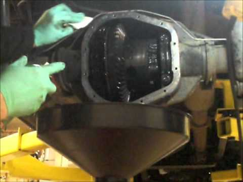 F250 Powerstroke Rear Axle Oil Change