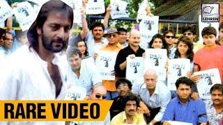 When Bollywood UNITED To Support Sanjay Dutt   Shah Rukh Khan, Akshay Kumar   Lehren Retro