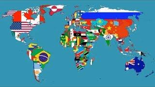 OS 5 PAÍSES MAIS FAMOSOS DO Mundo  | LISTAS