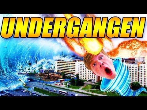 VERDENS UNDERGANG?! - TORNADOER OG METEORER - REAL LIFE MOD - GTA 5 MODS - [#15]