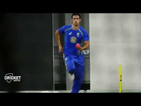What's it like facing Starc in the nets?