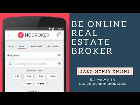 Become Online Real Estate Broker : Make Money Online via Click and Earn