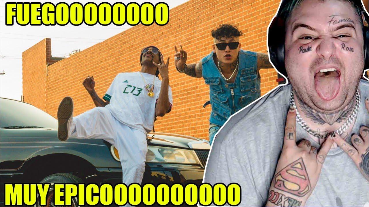 ARGENTINO REACCIONA A Alemán - Mi Tio Snoop Ft Snoop Dogg