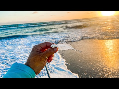 BEST Lures For Catching A LOT Of Saltwater Fish While Beach Fishing!