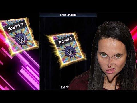 Neon Nexus Pack opening + Possible Worst/Best LUCK Ever!? WWE SUPERCARD SEASON 5